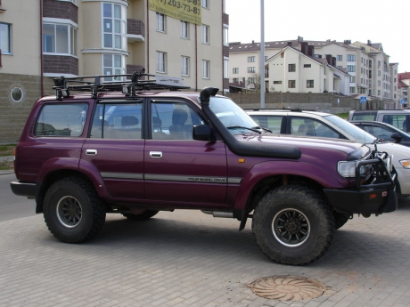 Шноркель Toyota Land Cruiser 80