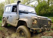 Шноркель Land Rover Defender TDI